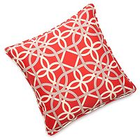 Edie Inc. Geo Loop Indoor Outdoor Decorative Pillow - 20'' x 20''