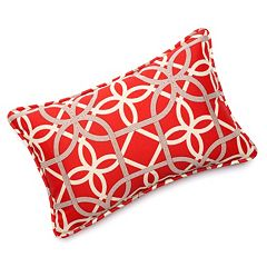 Edie Inc. Geo Loop Indoor Outdoor Decorative Pillow - 13'' x 20''