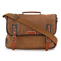 The Same Direction Red Woods Messenger Bag