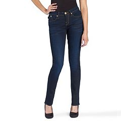 Women's Rock & Republic® Denim Rx Midrise Dark Wash Berlin Skinny Jeans