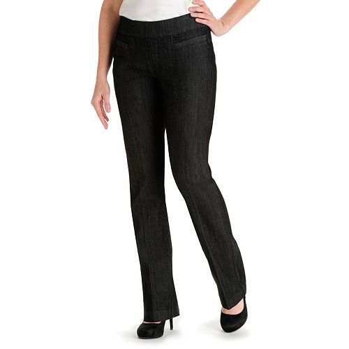 b996ece2572 Petite Lee Piercen Pull-On Bootcut Jeans
