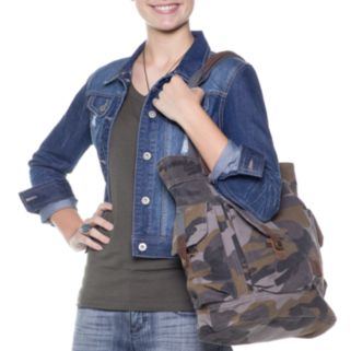 The Same Direction Aotana Camouflage Tote
