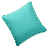 Edie Inc. Sonic Leaf Indoor Outdoor Quilted Decorative Pillow - 20'' x 20''