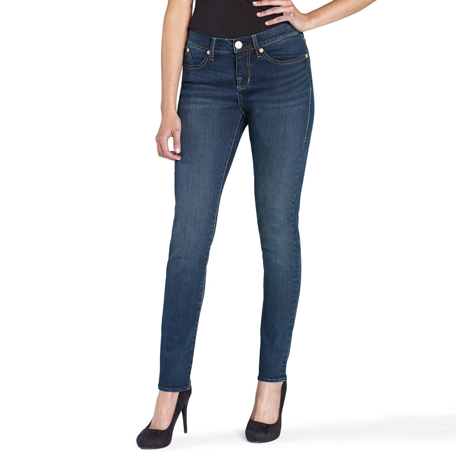 High waisted skinny jeans kohls