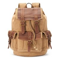 The Same Direction Leather Turtle Ridge Tech Backpack