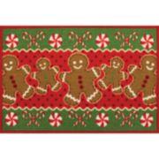 St. Nicholas Square® Gingerbread Rug