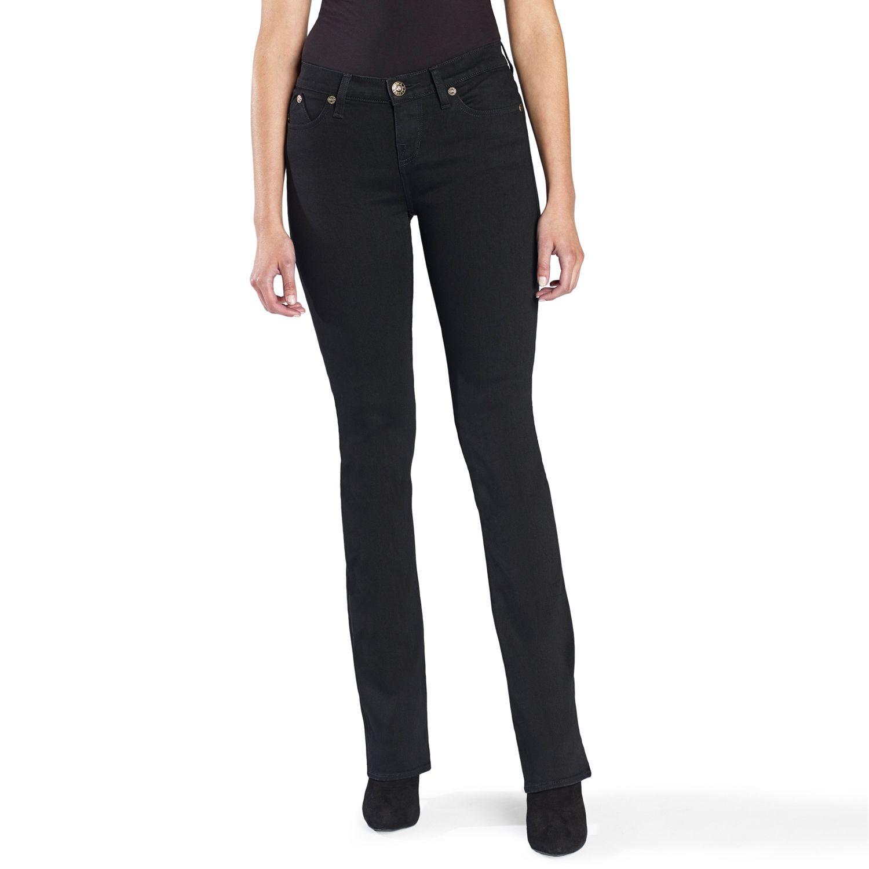 Womens Rock & Republic? Denim Rx Kasandra Embroidered Bootcut Jeans