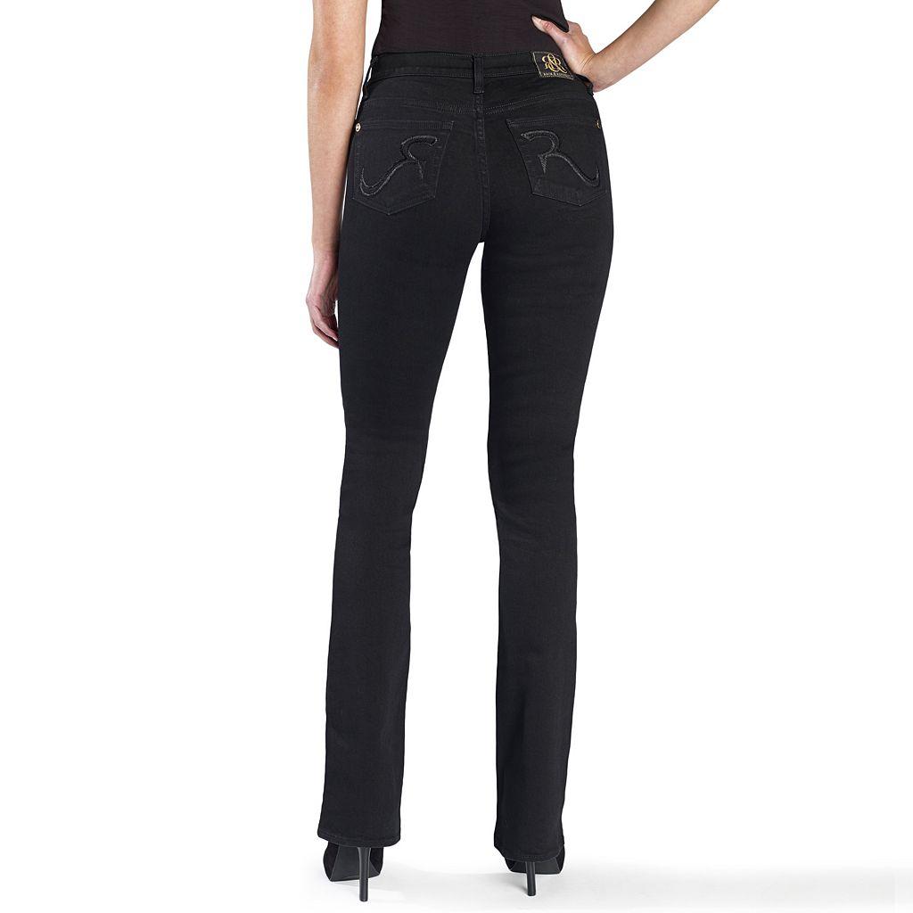 Women's Rock & Republic® Denim Rx Kasandra Embroidered Bootcut Jeans