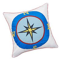 Edie Inc. Compass Indoor Outdoor Decorative Pillow