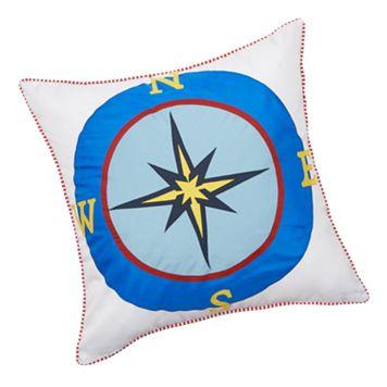 Edie, Inc. Compass Indoor Outdoor Decorative Pillow