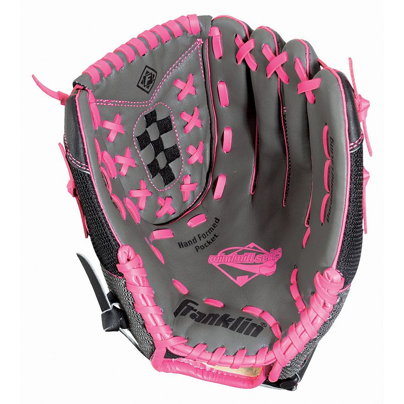 Franklin Windmill Series 12-in. Right Hand Throw Softball Glove - Adult, Grey