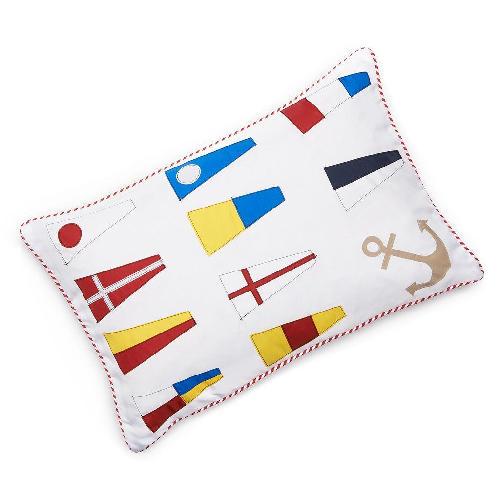 Edie, Inc. Windward Laser-Cut Indoor Outdoor Decorative Pillow