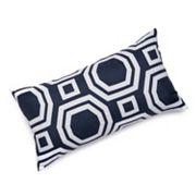 Edie Inc. Geometric Laser-Cut Indoor Outdoor Decorative Pillow