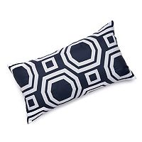 Edie, Inc. Geometric Laser-Cut Indoor Outdoor Decorative Pillow