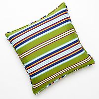 Edie Inc. Classic Stripe Indoor Outdoor Decorative Pillow - 20'' x 20''