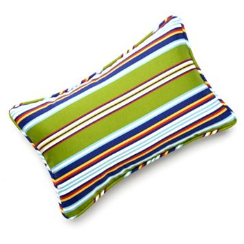Edie Inc. Classic Stripe Indoor Outdoor Decorative Pillow - 13'' x 20''