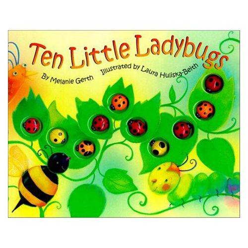 Ten Little Ladybugs Book