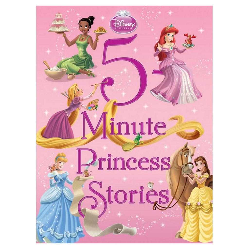 Disney 5-Minute Princess Stories Book