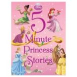 Disney 5-Minute Princess Stories Book
