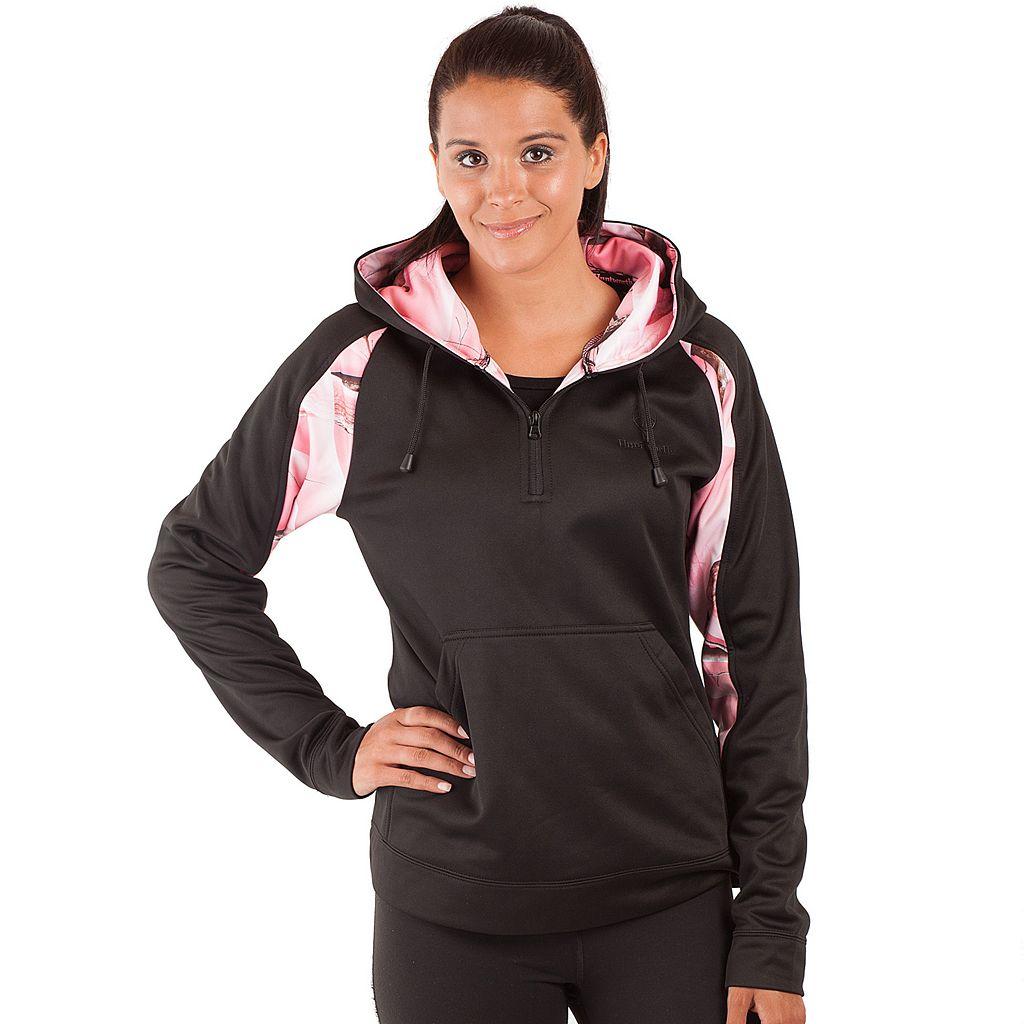 Women's Huntworth Lifestyle 1/4-Zip Camouflage Fleece Hoodie