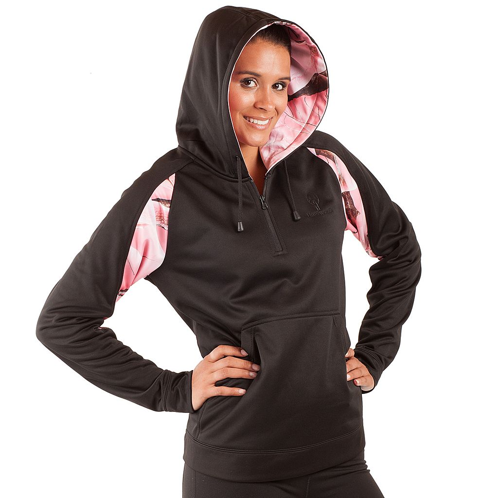 Women's Huntworth Lifestyle 1/4-Zip Camouflage Fleece Hoodie