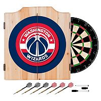 Washington Wizards Wood Dart Cabinet Set