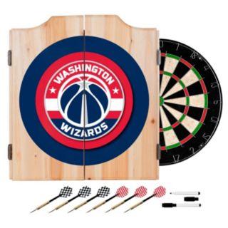 Washington Wizards Wood Dart Cabinet Set