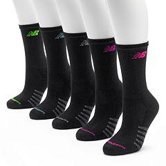 New Balance 6 pkCrew Socks - Women
