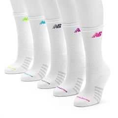 New Balance 6-pk. Crew Socks - Women