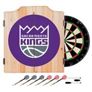 Sacramento Kings Wood Dart Cabinet Set