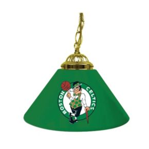 "Boston Celtics Single-Shade 14"" Bar Lamp"