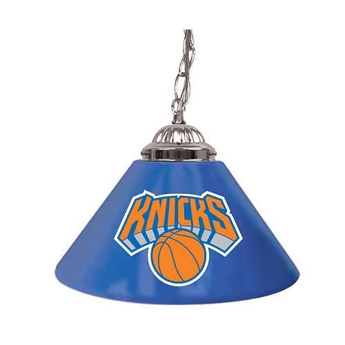 "New York Knicks Single-Shade 14"" Bar Lamp"