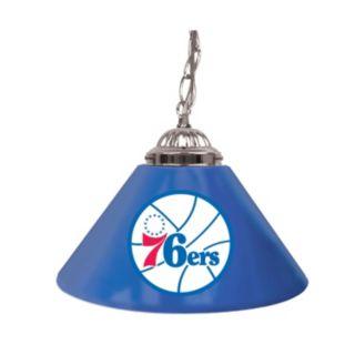 "Philadelphia 76ers Single-Shade 14"" Bar Lamp"
