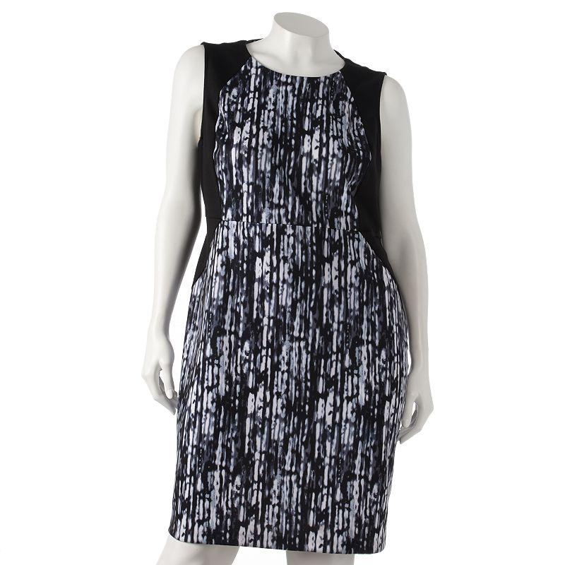 Apt. 9 Ponte Sheath Dress - Women's Plus