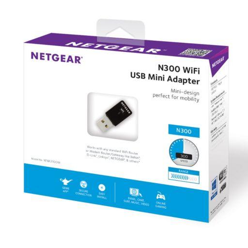 NETGEAR N300 USB Mini WiFi Adapter