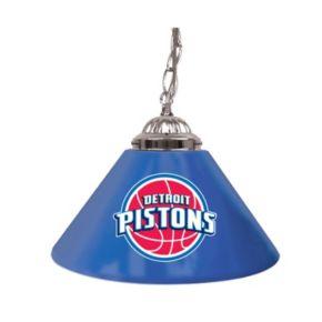 "Detroit Pistons Single-Shade 14"" Bar Lamp"