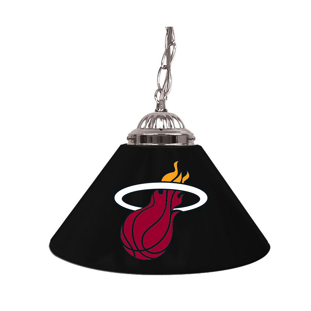 "Miami Heat Single-Shade 14"" Bar Lamp"