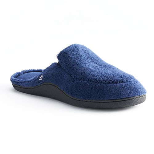 031b0c1a7 isotoner Men s Microterry Clog Slippers