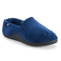 Isotoner Men's Microterry Slip-On Slippers