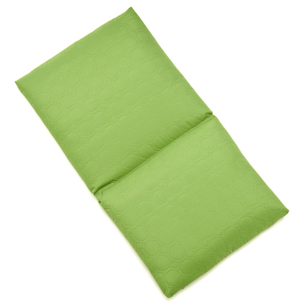 Edie Inc. Sonic Hexagon Indoor Outdoor Flanged Chair Pad