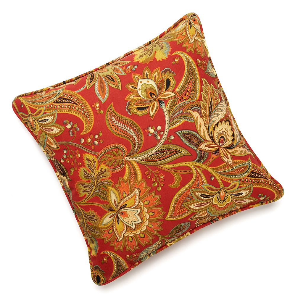 Edie Inc. Valbella Indoor Outdoor Decorative Pillow - 20'' x 20''