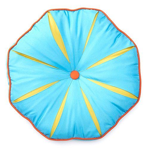 Edie Inc. Sonic Quilt Octagon Indoor Outdoor Decorative Pillow