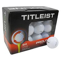 Nitro Titleist 24-pk. Recycled Golf Balls