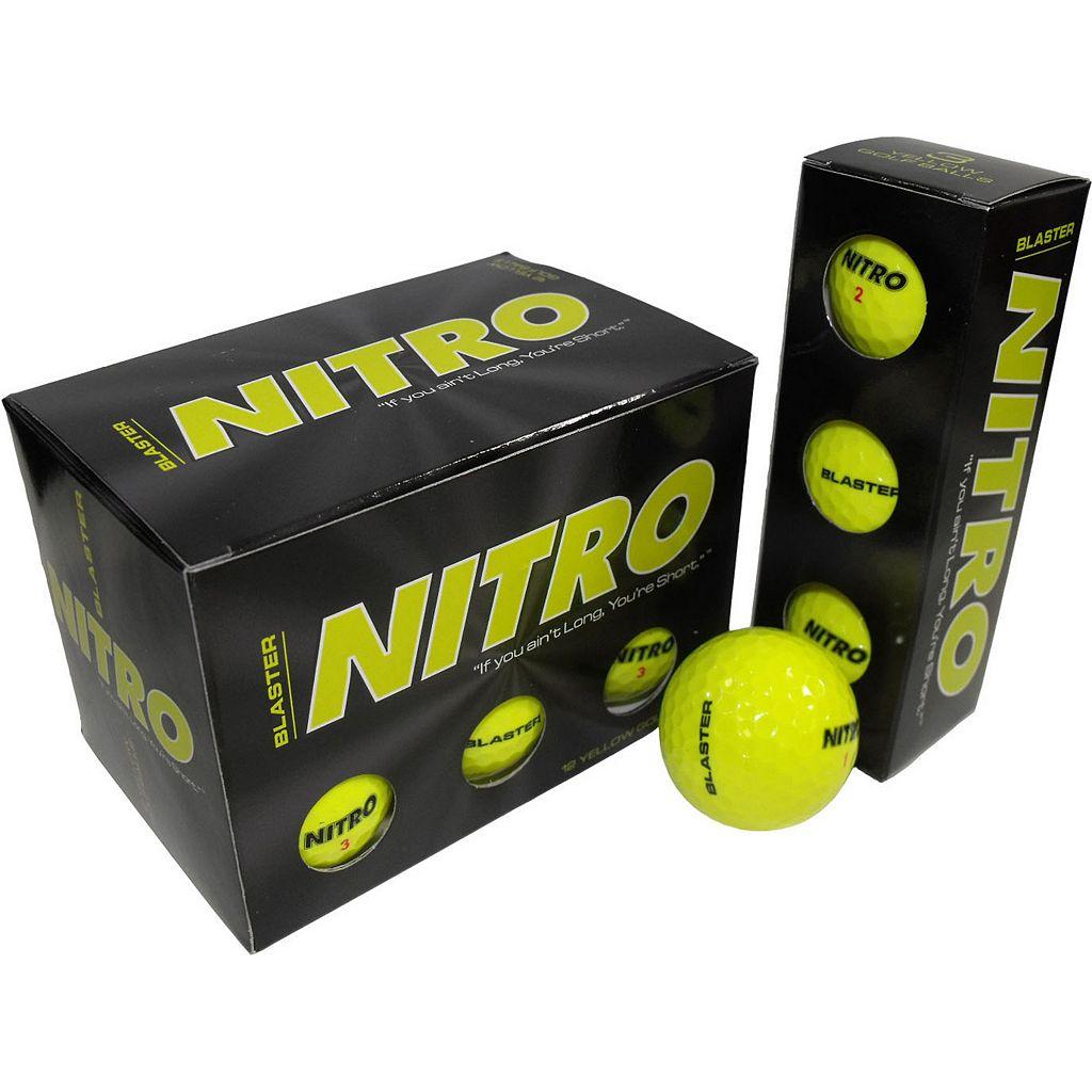 Nitro 24-pk. Blaster Golf Balls