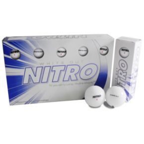 Nitro 15-pk. White Out Golf Balls