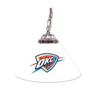 """Oklahoma City Thunder Single-Shade 14"""" Bar Lamp"""