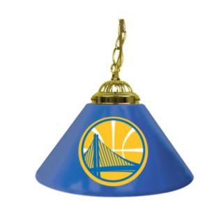 """Golden State Warriors Single-Shade 14"""" Bar Lamp"""