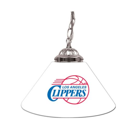 "Los Angeles Clippers Single-Shade 14"" Bar Lamp"