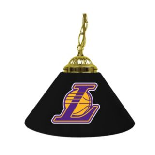 "Los Angeles Lakers Single-Shade 14"" Bar Lamp"