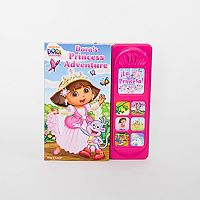 Nickelodeon Dora the Explorer: Dora's Princess Adventure Book